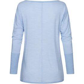 super.natural Travel Camiseta Manga Larga Mujer, azul